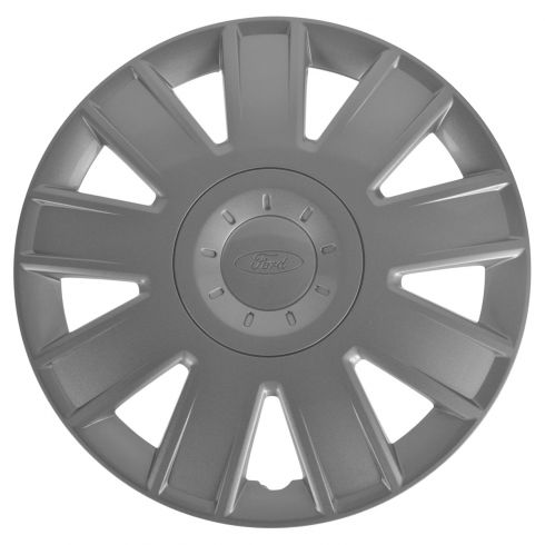04-07 Ford Focus (w/15 Inch Wheel) ~Ford~ Logoed 9 Spoke Hub Cap Wheel Cover (Ford)