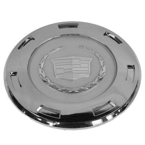07-14 Cady Escalade, ESV; 07-13 EXT; 09-13 Hybrid (w/22 Inch 7-Spoke Whl) Chrome Center Hub Cap (GM)