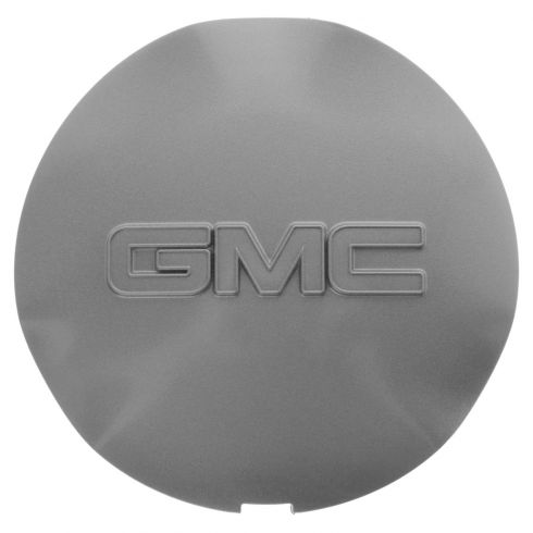 02-09 Envoy; 02-06 Envoy XL; 04-05 Envoy XUV (w/6 Spoke Alum Whl) Gray ~GMC~ Logoed Center Cap (GM)