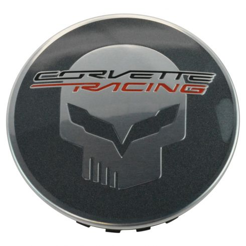 14-16 Chevy Corvette Stingray ~CORVETTE RACING~ Jake Logoed Wheel Center Cap (GM)