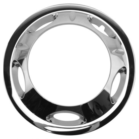 11-15 Chevy Silverado, GMC Sierra 3500 w/DRW Front Chrome Wheel Cover LF = RF (GM)