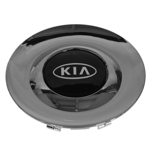 01-06 Kia Optima, Magentis (w/15 Inch Alum Whl) Chrome & Black