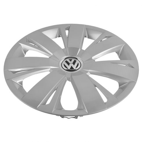 11 VW Jetta (exc City); 12-14 Jetta 16 Inch, 7 Spoke Wheel Cover Hub Cap (Volkswagen)