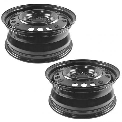 05-06 Equinox; 06-12 Impala; 06-07 Monte Carlo (16 x 6 1/2 inch) Std Duty (RPO QB5) Steel Wheel Pair
