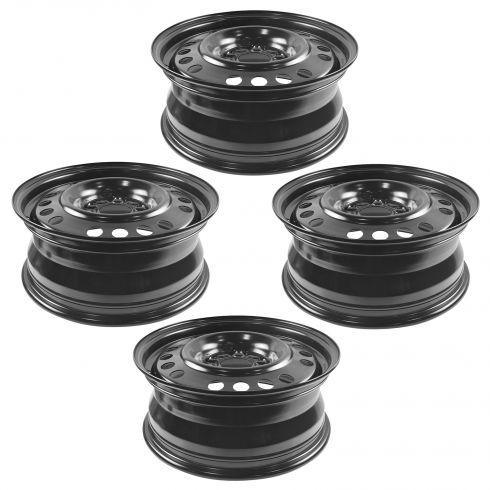 05-06 Equinox; 06-12 Impala; 06-07 Monte Carlo (16 x 6 1/2 inch) Std Duty (RPO QB5) Steel Wheel 4Set
