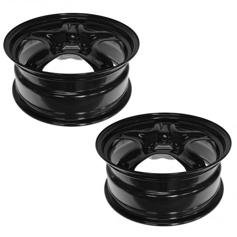 03-14 Dodge Ram 3500 DRW (w/17 x 6 Inch Wheel) Rear Wheel Chrome Center Cap PAIR