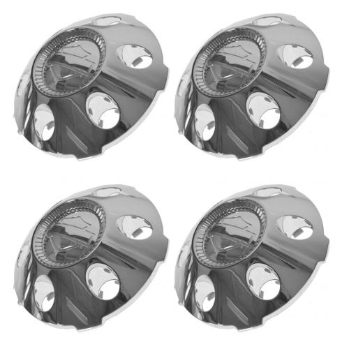 06-07 F150 (w/Harley Davidson Pkg (22 Inch Wheels)) Chrome Center Cap w/HD Insignia (Set of 4)(Ford)