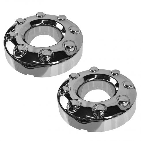 05-13 Ford F350SD; 11-13 F450SD, F550SD w/4WD & DRW Front Wheel Center Cap PAIR (Ford)