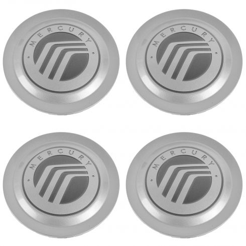 04-06 Mercury Grand Marquis ~Mercury~ Logoed Wheel Center Cap Set of 4 (Ford)