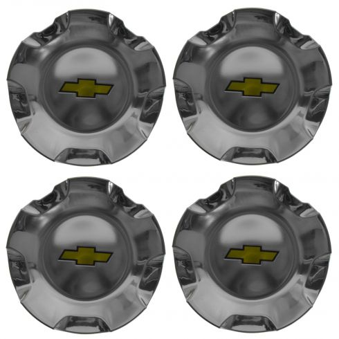 07-14 Avalanche, Sub, Tahoe (w/20 x 8 1/2 In 5 Spk Polish Whl - RPO RCS) Chrm Ctr Cap (Set of 4)(GM)