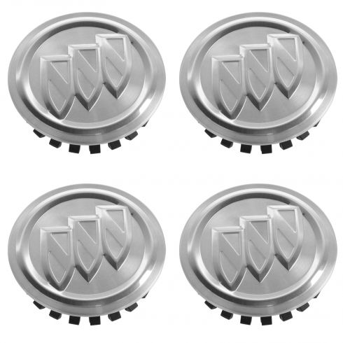 02-07 Rndzvous; 00-05 Lesabre; 10-14 LaCrosse, Allure; 11-14 Regal; 06-11 Lcerne Cap Set of 4 (GM)