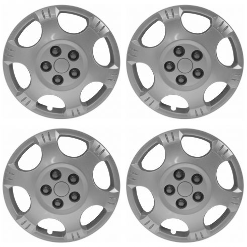 02-07 Saturn Vue Silver Spark (16 Inch) Wheel Cover Hub Cap (Set of 4) (GM)