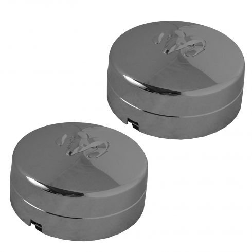 03-14 Dodge Ram 3500 DRW (w/17 x 6 Inch Wheel) Rear Wheel Chrome Center Cap PAIR (Mopar)