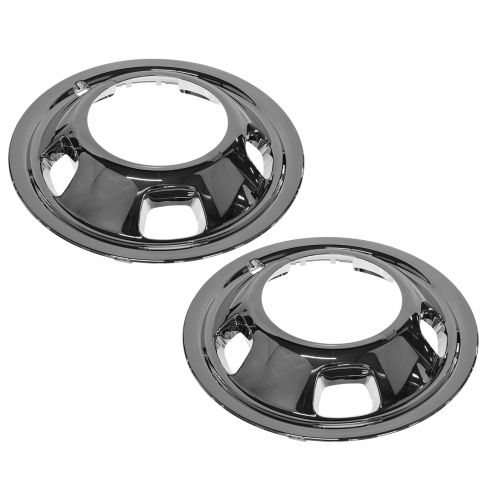 03-10 Dodge Ram 3500 w/DRW; 11-14 Ram 3500 w/DRW Front Wheel Trim Ring PAIR (MOPAR)