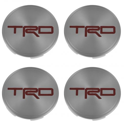 05-14 Tacoma; 07-14 FJ Cruiser; 03-14 4Runner, Tundra, Sequoia (w/17) Center Cap Set of 4 (Toyota)