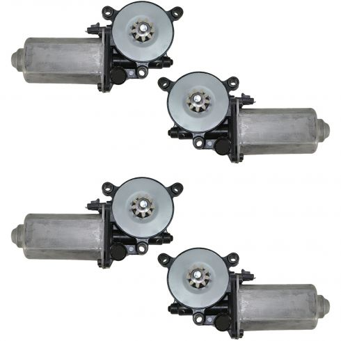 1994-04 Bravada Blazer Jimmy Window Motor Set 4pc