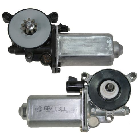 1999-05 Grand Am Alero Front Window Motor Pair
