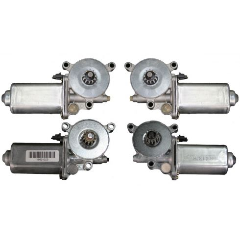 1990-91 Olds 88 Buick Lesabre Power Window Motor Set 4 Piece
