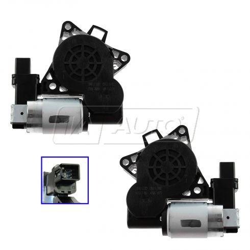 12-13 Mazda 5; 06-07 Speed6; 07-13 CX-7, CX-9; 09-11 RX-8 Power Window Motor PAIR
