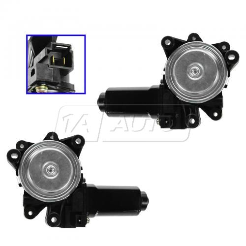 03 Chrysler Voyager; 03-07 Town & Country, Caravan, Grand Caravan Front Door Power Window Motor PAIR
