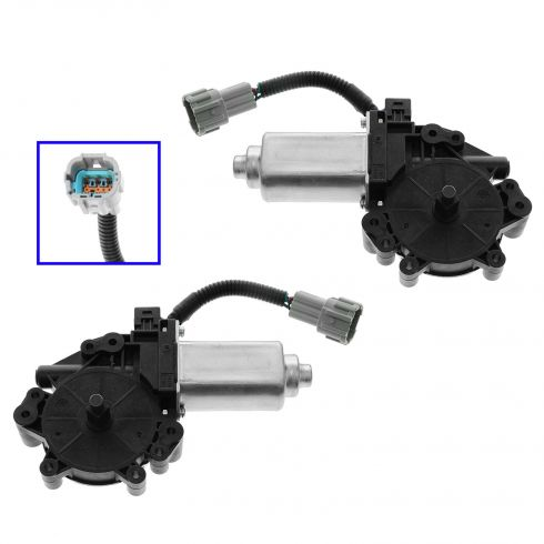 04-12 Nissan Titan, Armada; 04-08 QX56 ; 04-09 Quest Pwr Window Motor Pair