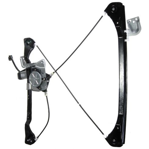 1999-04 Olds Alero Pontiac Grand Am Power Window Regulator with Motor 4 Door Passenger's Front
