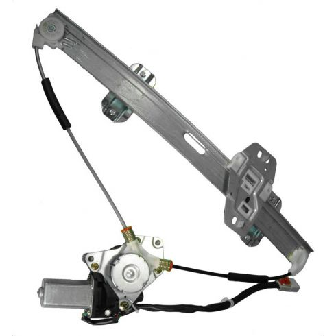1996-00 Honda Civic 4dr Power Window Regulator w/ Motor LF