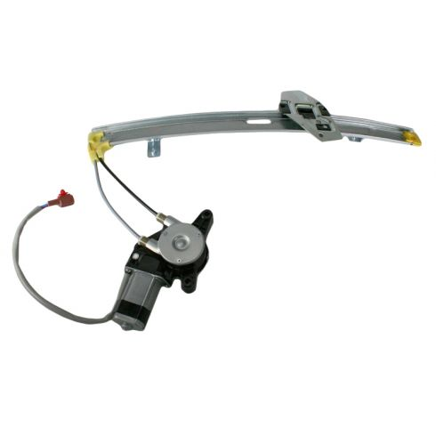 1990-93 Honda Accord Power Window Regulator w Motor RR