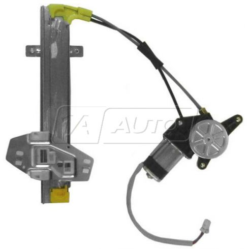 1994-97 Honda Accord Power Window Regulator w/Motor RR
