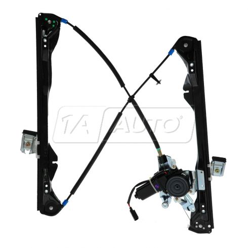 01-07 Ford Focus 4dr Pwr Window Regulator w/Mtr LF