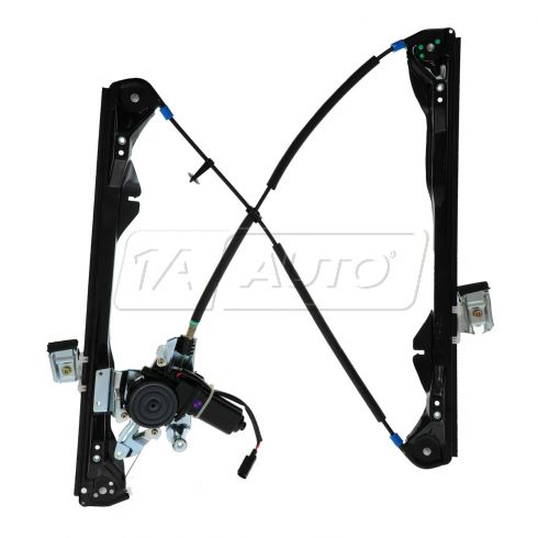 01-07 Ford Focus 4dr Pwr Window Regulator w/Mtr RF