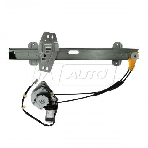97 Acura CL 3.0L; 98-99 CL Pwr Wdw Reg w/Motor RF