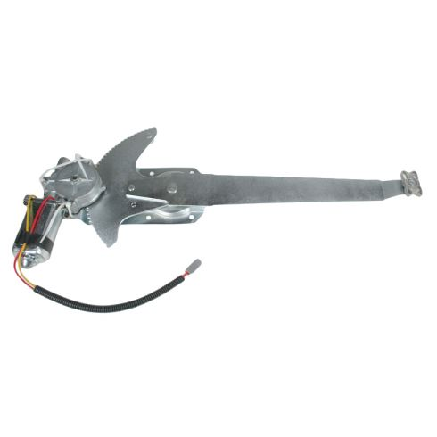 1981-96 Ford F-150 F250 Bronco Window Regulator Power With Motor LH