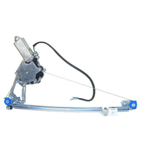 1986-95 Mercedes W124 Body Type Rear Door Window Regulator w/Motor LR
