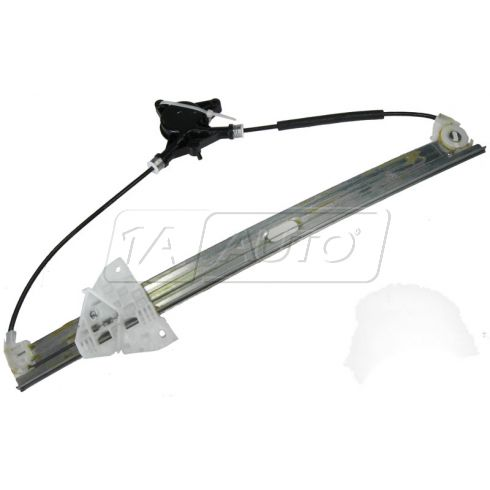 2007-10 Mazda CX-7 Power Window Regulator w/o Motor LF