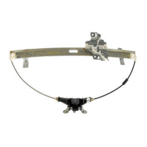 1998-00 Amigo; 1998-04 Rodeo Manual Window Regulator LF