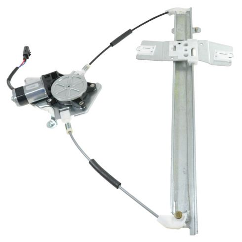 02-06 Jeep Liberty Pwr Window Regulator w/Motor RF