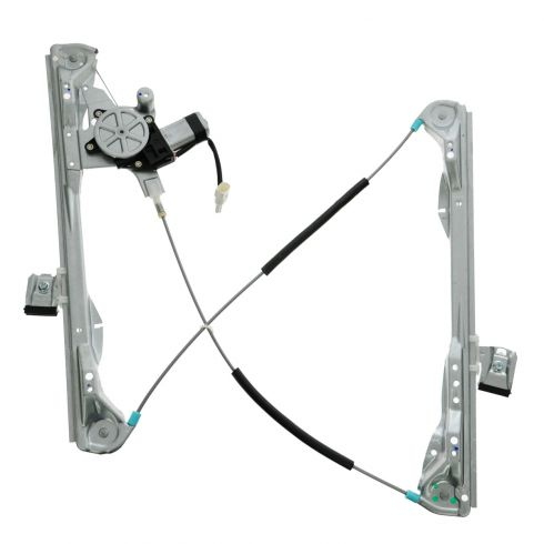 00-07 Ford Focus Coupe Power Window Regulator w/Motor LH
