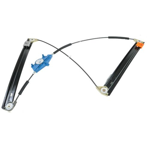 02-08 Audi A4 S4 Power Window Regulator w/o Motor LF