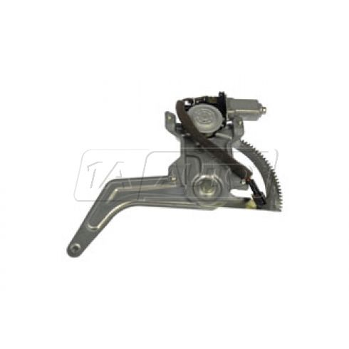 2000-05 Kia Rio Power Window Regulator w/Motor RR