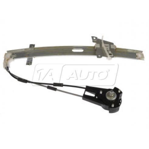 1986-89 Mazda 323 Hback; 87-89 Tracer 2dr Manual Window Regulator RF