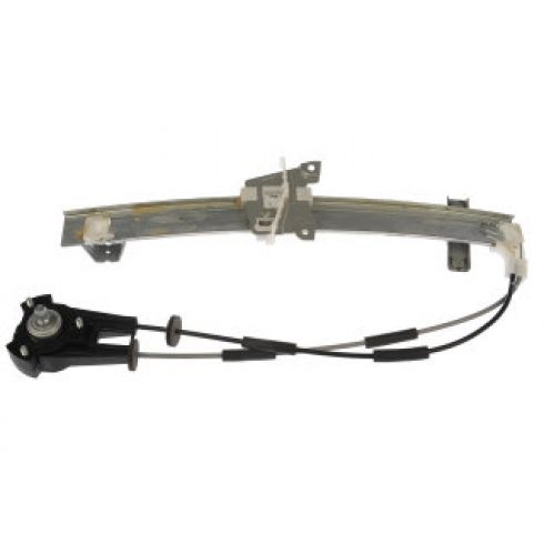 1986-87 Mazda RX-7; 88-91 RX-7 Coupe Manual Window Regulator LH