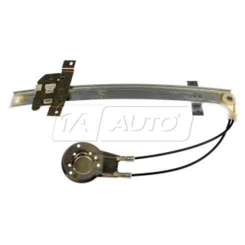 1986-91 Mazda 626 Sedan; 92 626 Manual Window Regulator RF