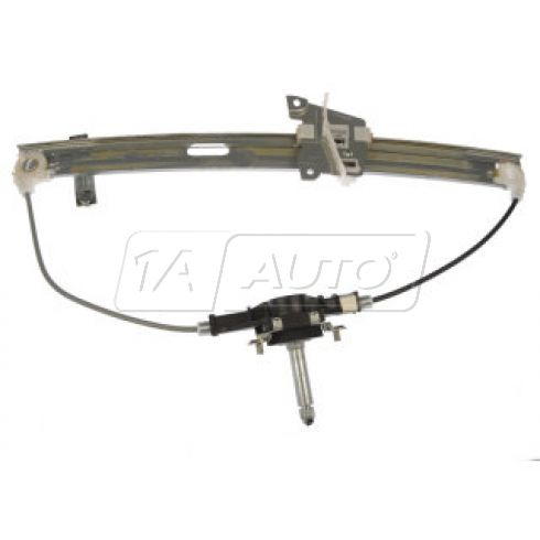 1999-03 Mazda Protege Manual Window Regulator LF