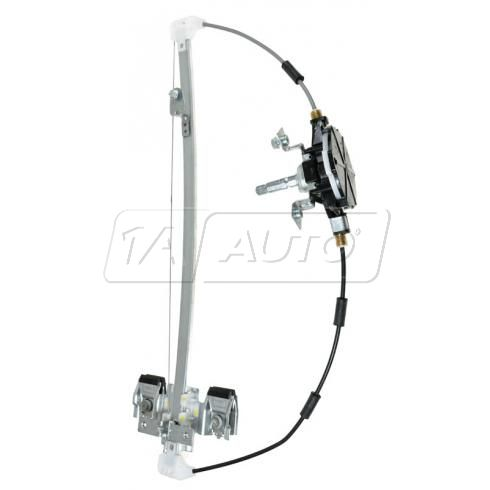 2005-07 Dodge Dakota Quad Cab, 08-11 Dakota Crew Cab Manual Window Regulator LR