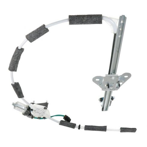 97-01 Jeep Cherokee 4dr Power Window Regulator w/Motor LF