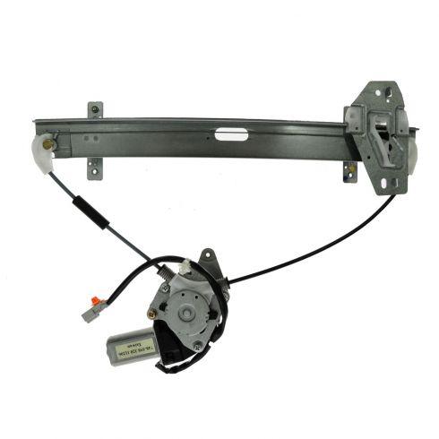 01-06 Acura MDX Rear Door Power Window Regulator w/Motor LR