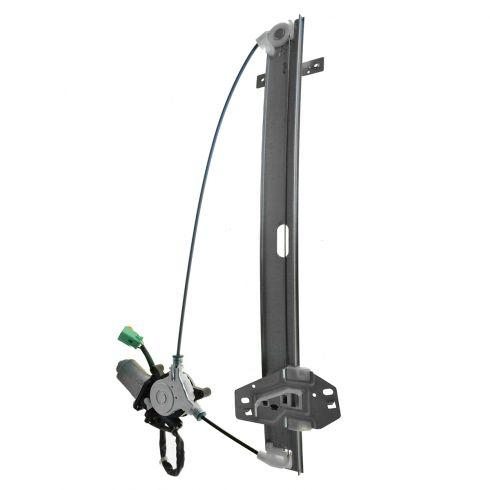 01-02 Acura MDX Front Door Power Window Regulator w/2 Pin Motor LF
