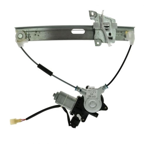 01-06 Mazda Tribute Rear Door Power Window Regulator w/Motor LR