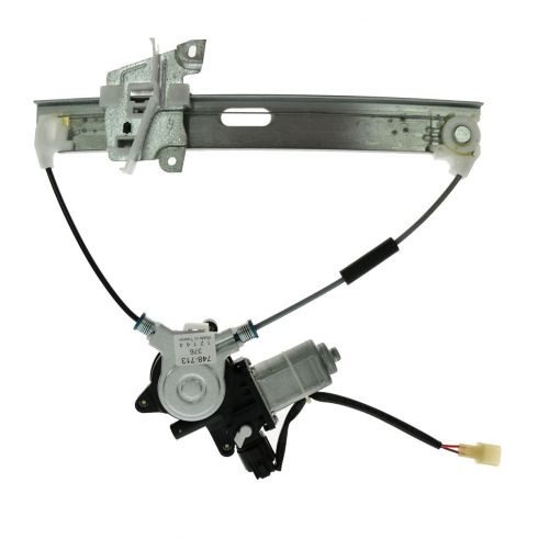 01-06 Mazda Tribute Rear Door Power Window Regulator w/Motor RR